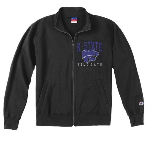 Champion Kansas State Wildcats Mens Team Track Jacket (Champion)