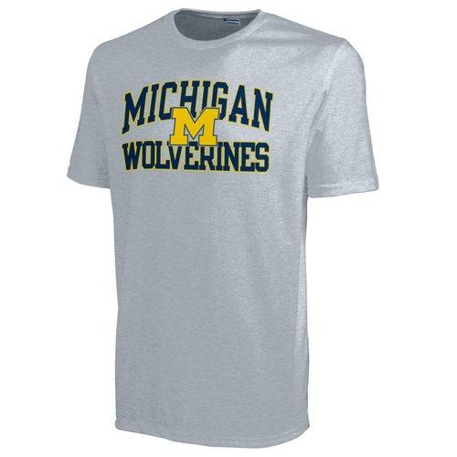 Champion Michigan Wolverines Mens T Shirt 4725239-APC02443099x (Champion)