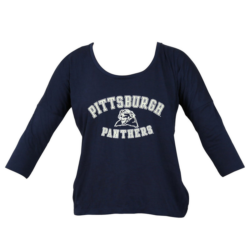 Champion Pitt Panthers Womens Half Time Tee 4789315-APC02480895 (Champion)
