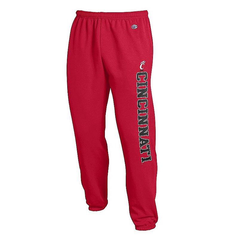 Cincinnati Bearcats Sweatpants Pockets Red APC03010826