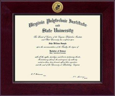 Diploma Frames Amp Photos Virginia Tech Hokies College