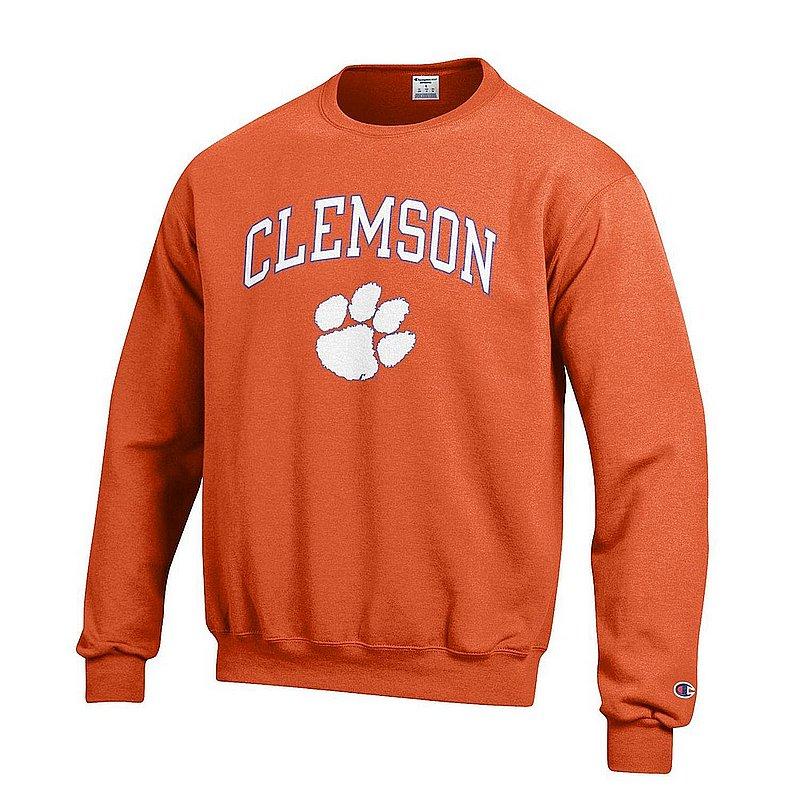 Clemson Tigers Crewneck Sweatshirt Varsity Orange APC02960969