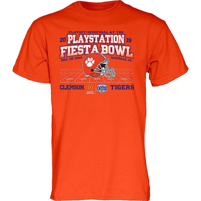Clemson Tigers Fiesta Bowl 2019 Orange WHEEL ROUTE