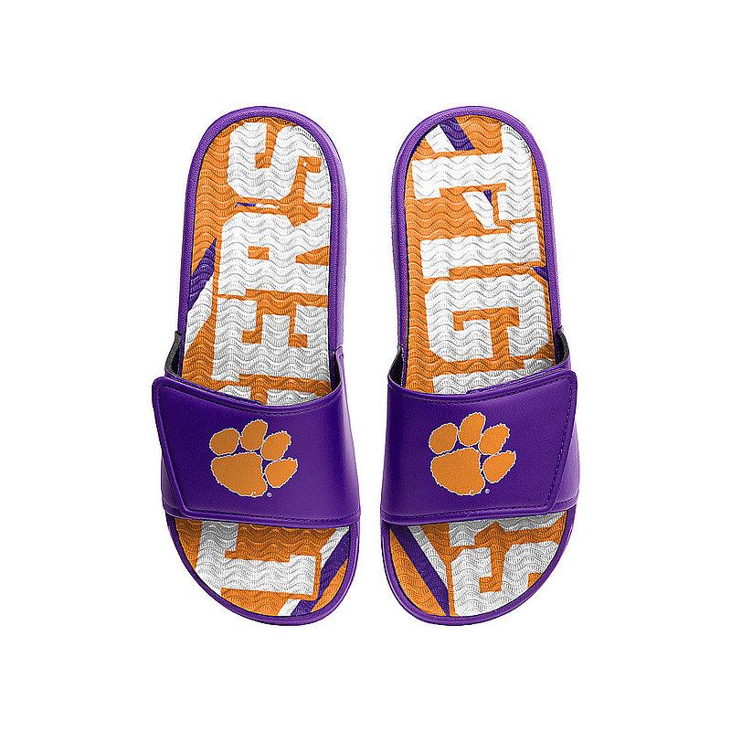 Clemson Tigers Gel Slides Sandals FFSSNCGELCU