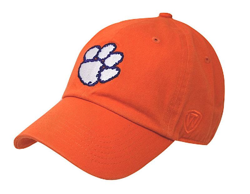 Clemson Tigers Hat Icon Orange CREW-CLMSN-ADJ-TMC