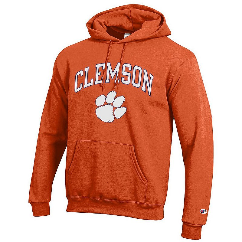 Clemson Tigers Hooded Sweatshirt Varsity Orange APC02960969