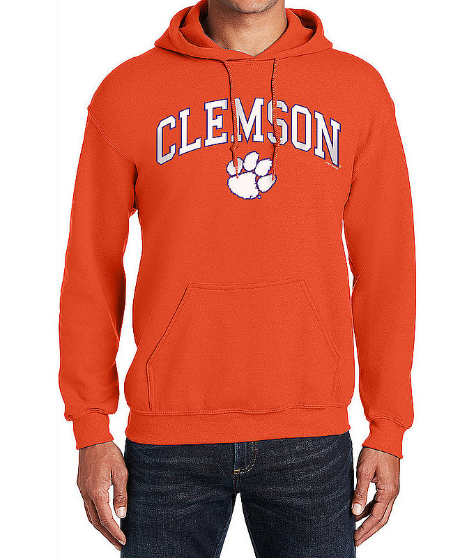 Clemson Tigers Hooded Sweatshirt Varsity Orange APC02960969*