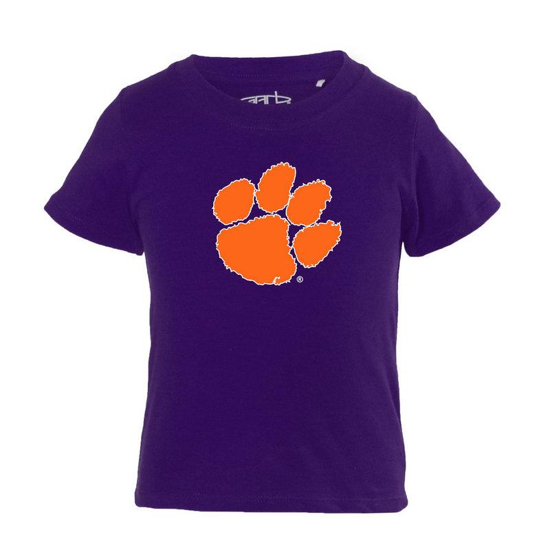 Clemson Tigers Infant TShirt Purple TONI-I-PURPLE-CLEMSON