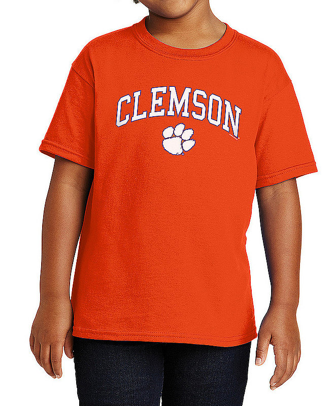 Clemson Tigers Kids TShirt Arch Orange APC03008292