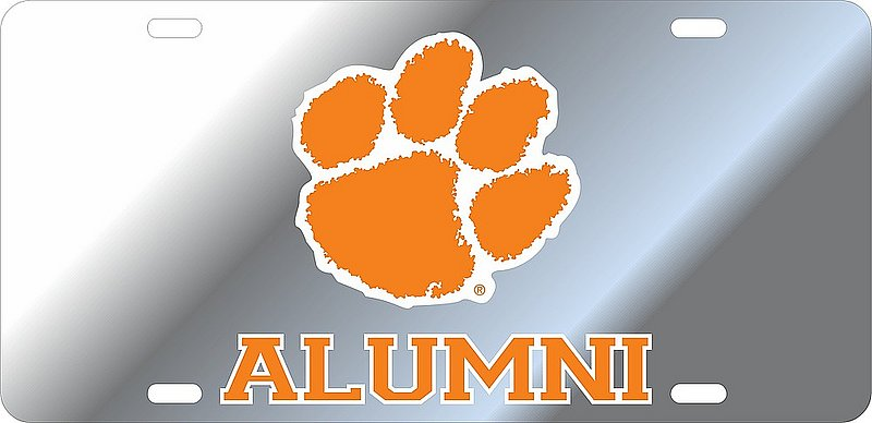 Clemson Tigers License Plate Alumni 14323