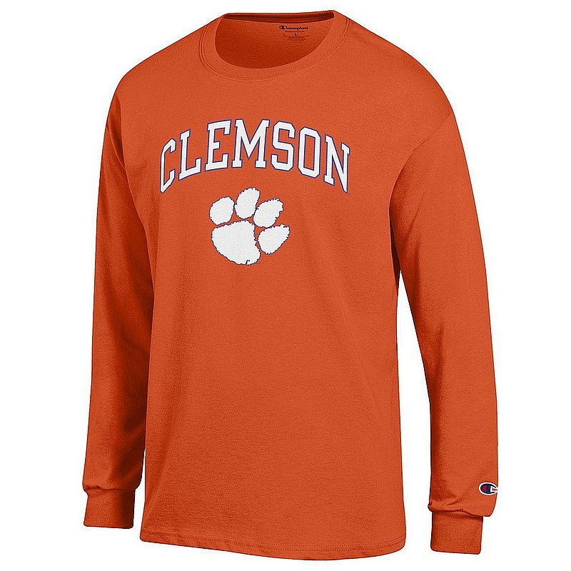 Clemson Tigers Long Sleeve TShirt Varsity Orange APC02960969