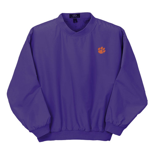 Clemson Tigers Microfiber Wind Jacket Purple