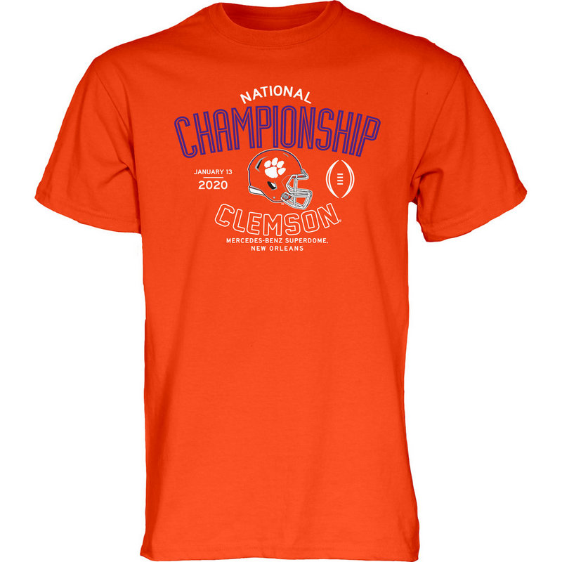 Clemson Tigers National Champs Tshirt 2019-2020 Championship Bound