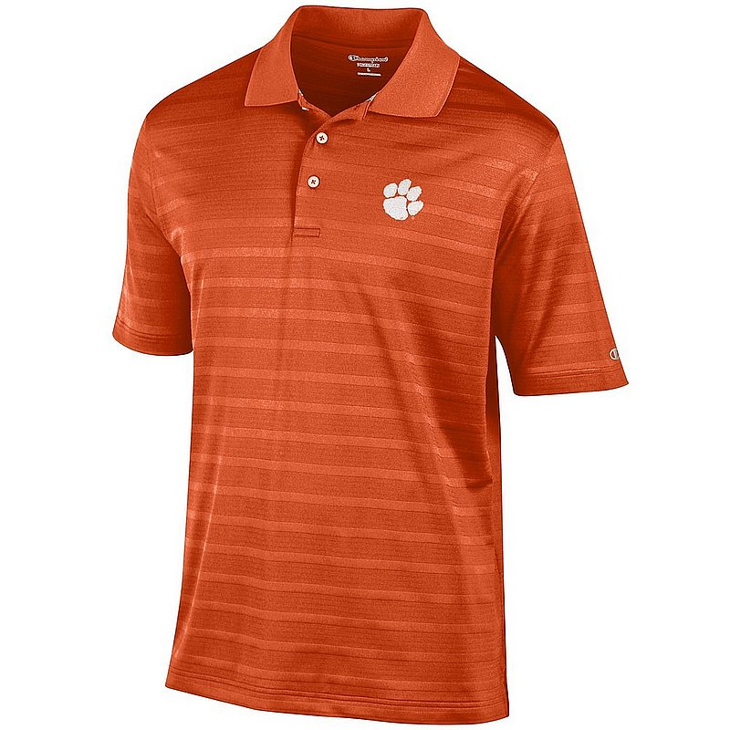 Clemson Tigers Polo Shirt Orange AEC03244688