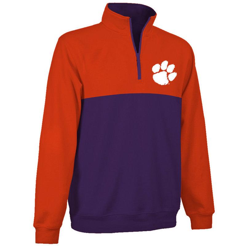 Clemson Tigers Quarter Zip Sweatshirt CLM9A660