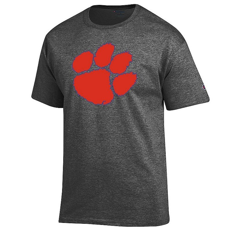 Clemson Tigers TShirt Charcoal Icon APC03004440*