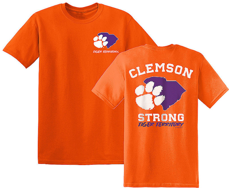 Clemson Tigers Tshirt State Strong CLEMStateStrong