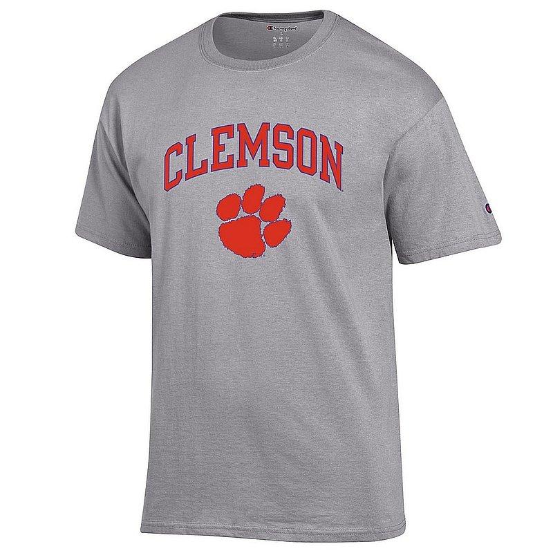 Clemson Tigers TShirt Varsity Gray APC02960969