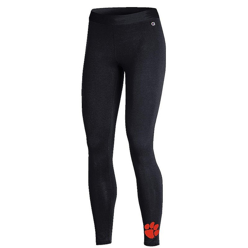 Clemson Tigers Womens Leggings Black APC03319057