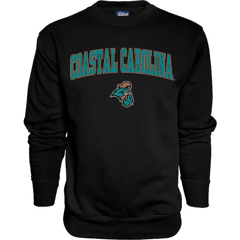 Coastal Carolina Chanticleers Crewneck Sweatshirt Varsity Black 00000000BC9CG
