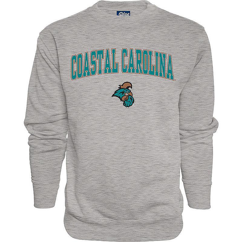 Coastal Carolina Chanticleers Crewneck Sweatshirt Varsity Charcoal 00000000BC9CG