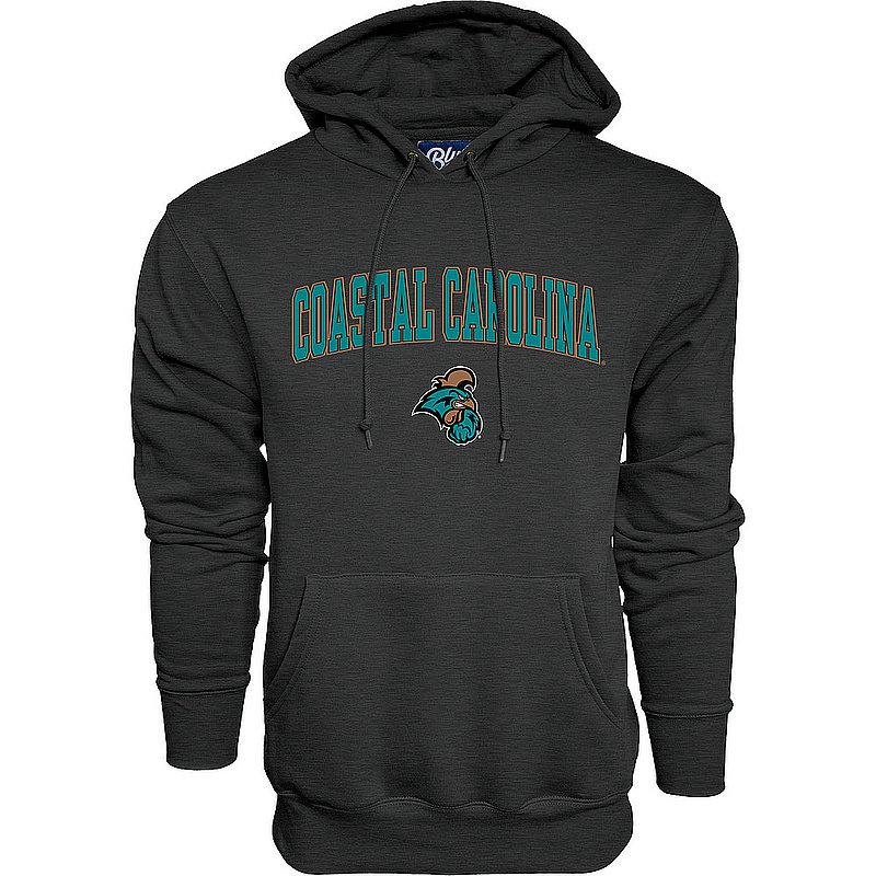 Coastal Carolina Chanticleers Hooded Sweatshirt Varsity Charcoal 00000000BC9CG