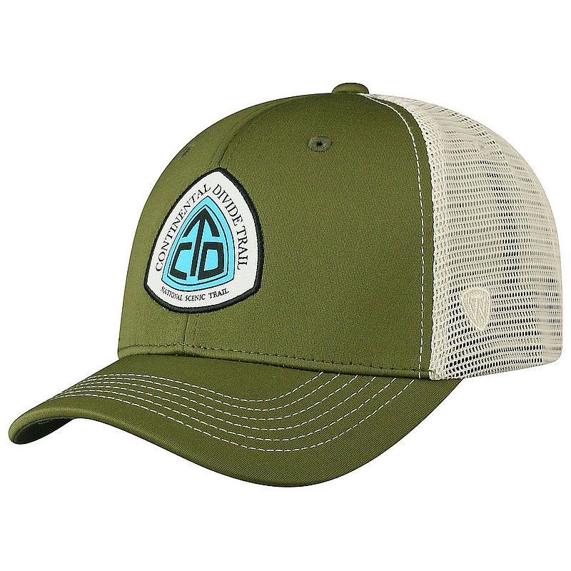 Continental Divide National Trail Adjustable Olive Hat RANG1-CDTC-ADJ-2TN2