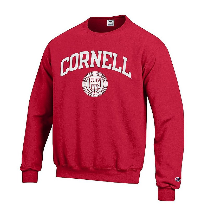 Cornell Big Red Crewneck Sweatshirt Red APC03227405