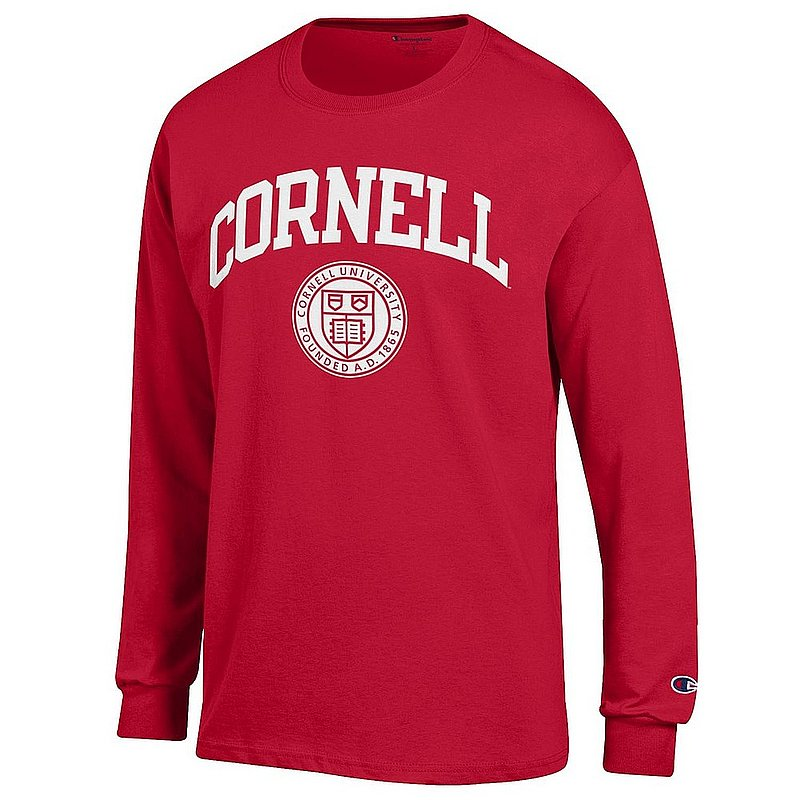 Cornell Big Red Long Sleeve TShirt Red APC03227405
