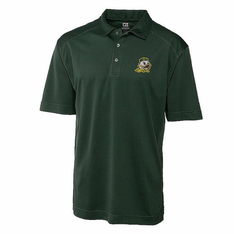 Cutter And Buck Oregon Ducks Polo Shirt Green MCK00291HT (Cutter And Buck)