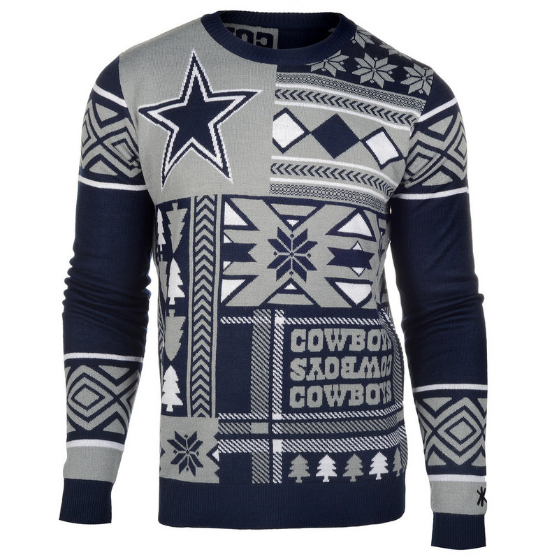 cheap for discount 3c2c1 55fb2 Dallas Cowboys Ugly Christmas Sweater