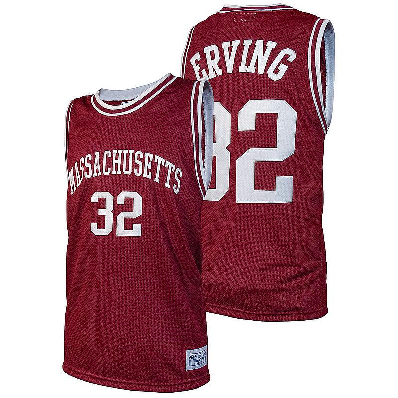 Dr. J Julius Erving Retro Massachusetts Minutemen Basketball Jersey CMAS021A