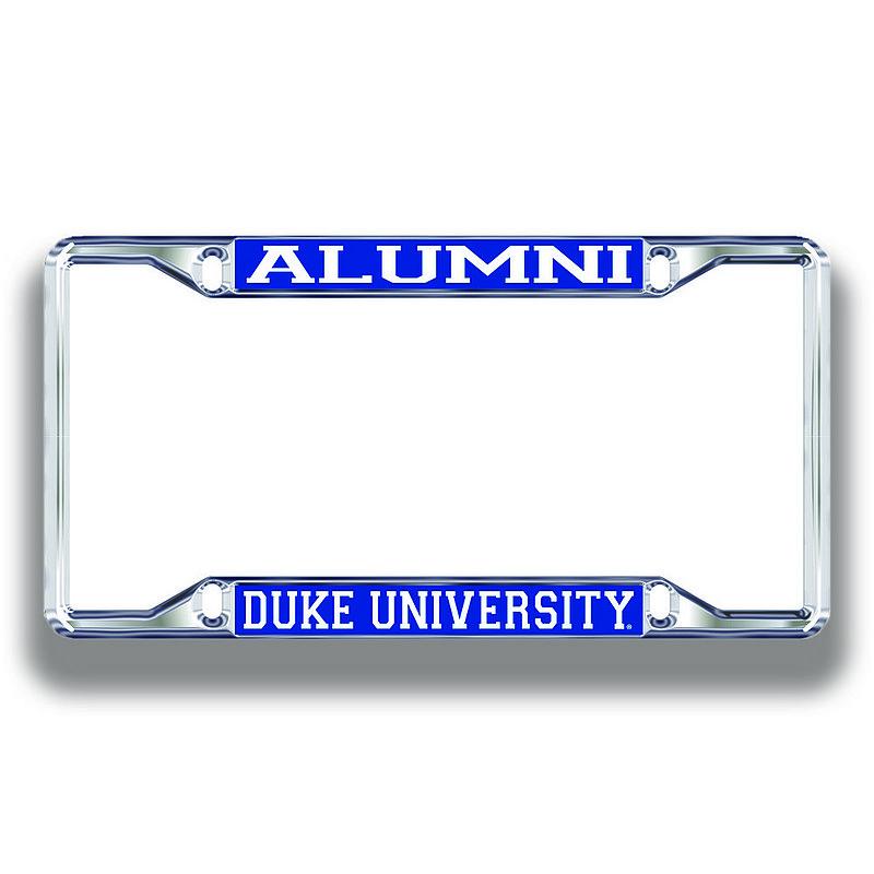 Duke Blue Devils License Plate Frame Alumni 15126