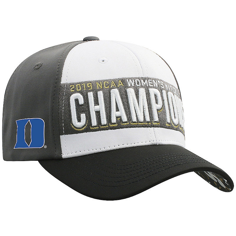 Duke Blue Devils Women's National Golf Championship Hat 2019 NCAAW-D1GFW-19C-3TN1