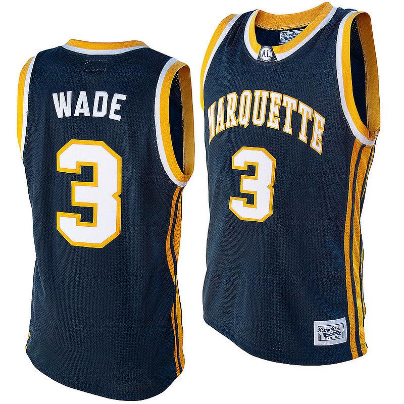 Dwyane Wade Retro Marquette Jersey RB7027MARDWN10A