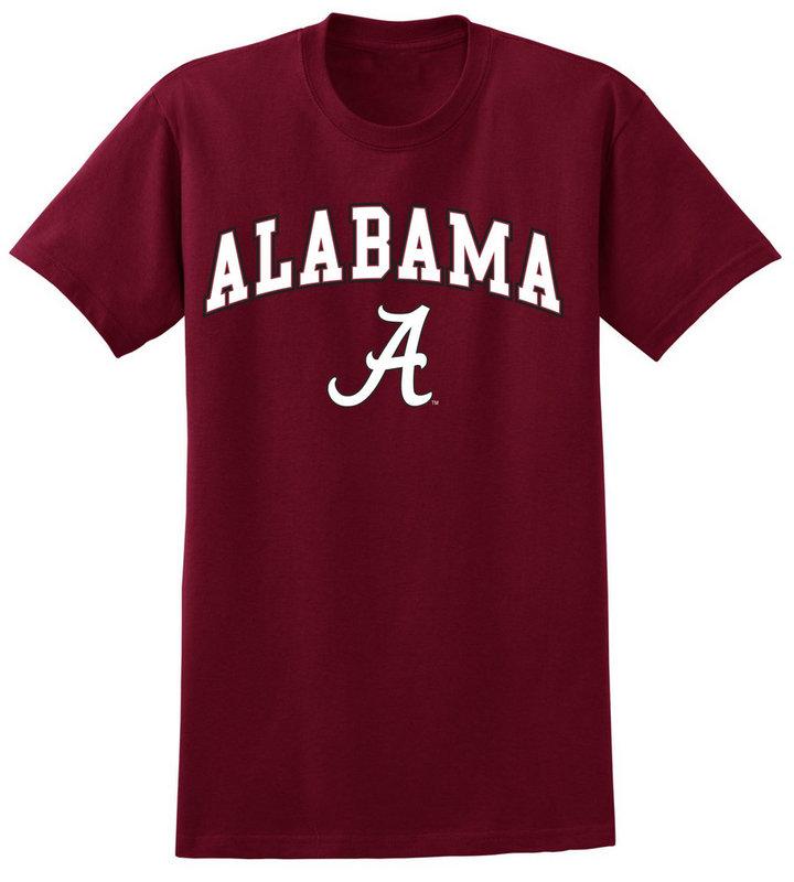 Elite Fan Shop Alabama Crimson Tide Tshirt Arch Over UW016