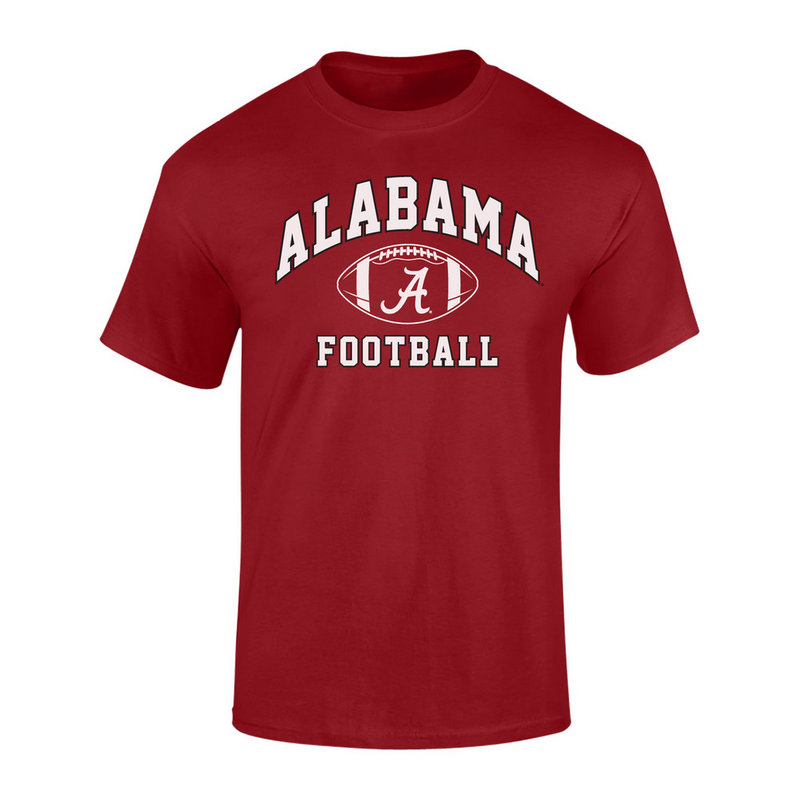 Elite Fan Shop Alabama Crimson Tide Tshirt Crimson ALA-048/086 (Elite Fan Shop)