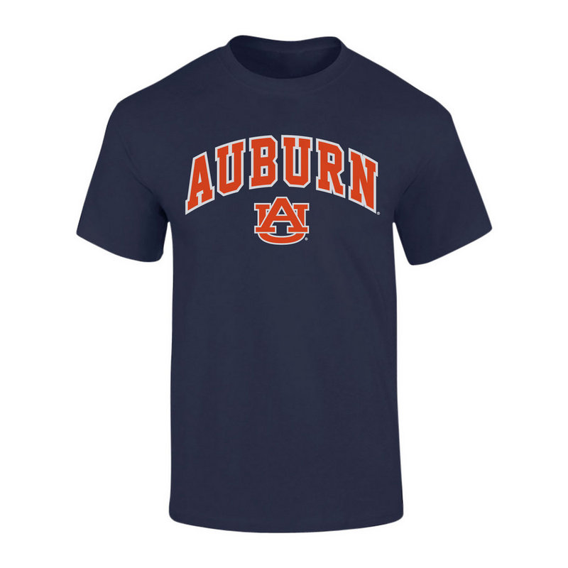 Elite Fan Shop Auburn Tigers TShirt Arch Navy P00061999 (Elite Fan Shop)