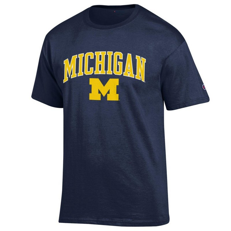 Michigan Wolverines TShirt Varsity Navy