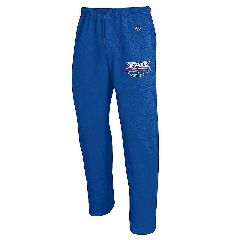 FAU Florida Atlantic Owls Sweatpants Pockets Blue APC03004942