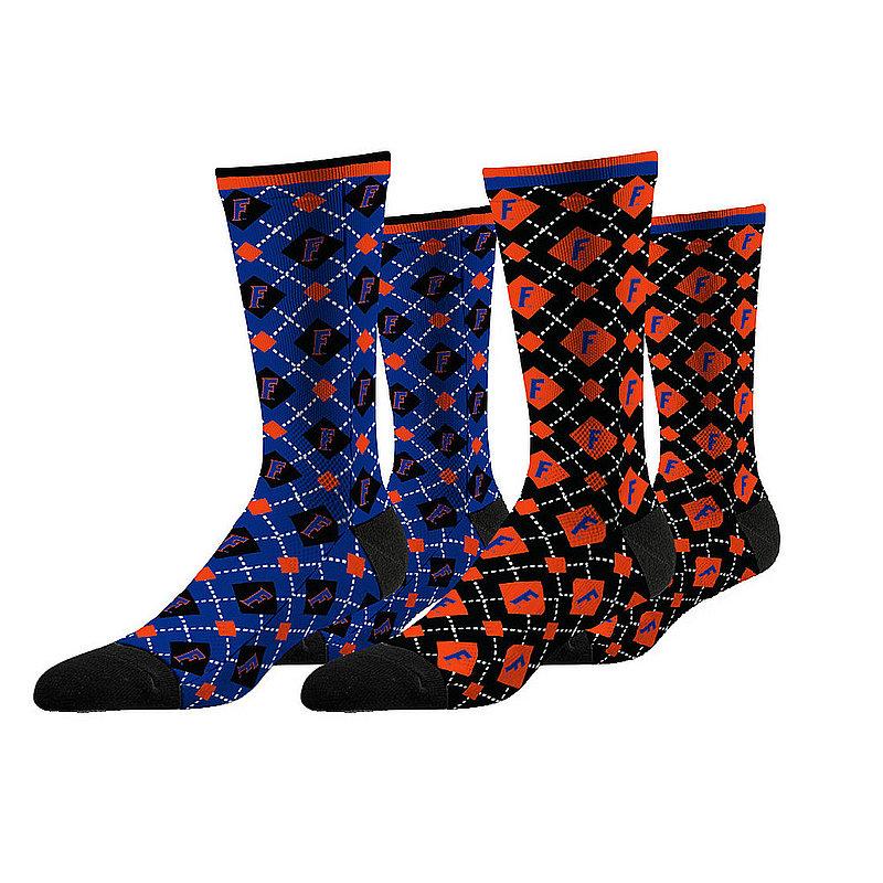 Florida Gators Argyle Sock 2-Pack