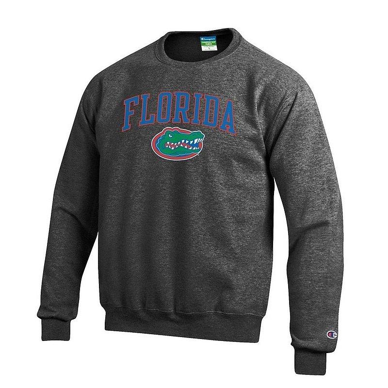 Florida Gators Crewneck Sweatshirt Arch Charcoal APC02857113*