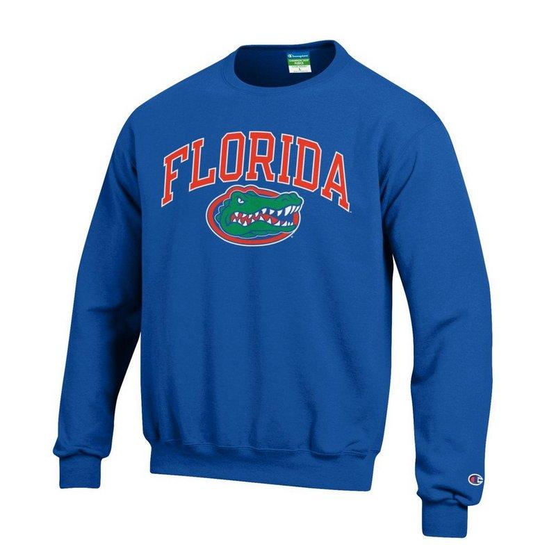 Florida Gators Crewneck Sweatshirt Arch Royal APC02857107