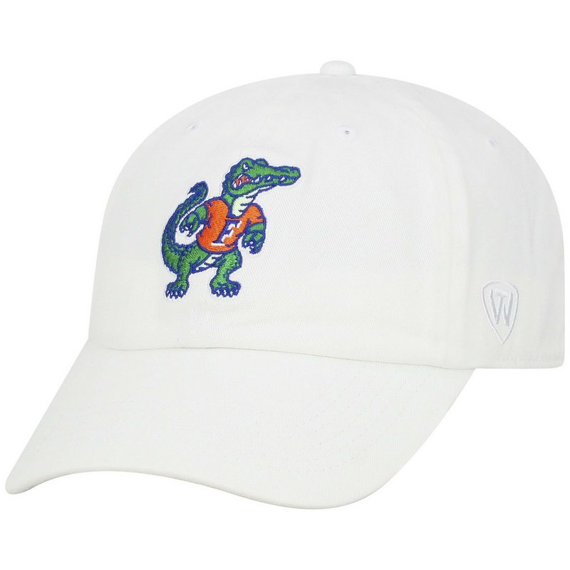 Florida Gators Hat Retro White CHAMP-FL-ADJ-WHT4