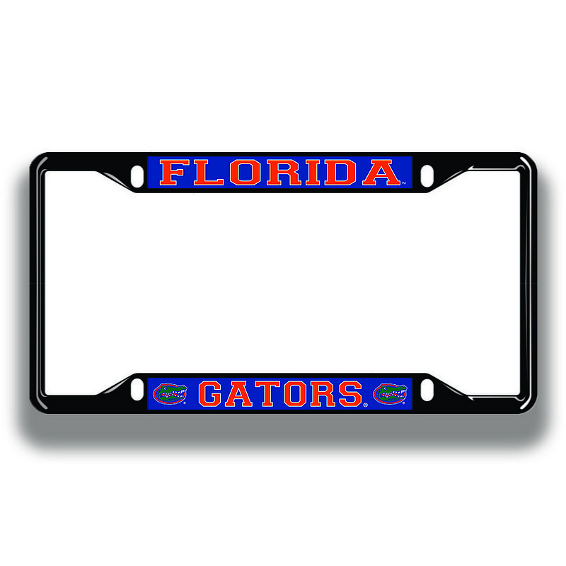 Florida Gators License Plate Frame Black 07394