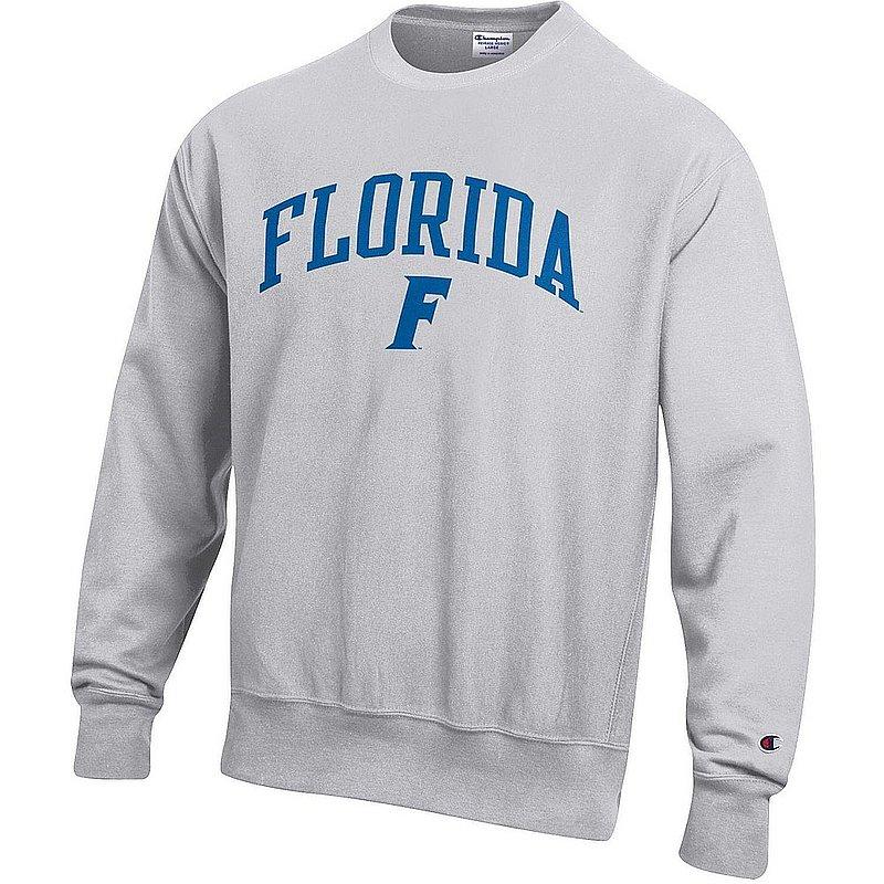 Florida Gators Reverse Weave Crewneck Sweatshirt Gray APC03006043