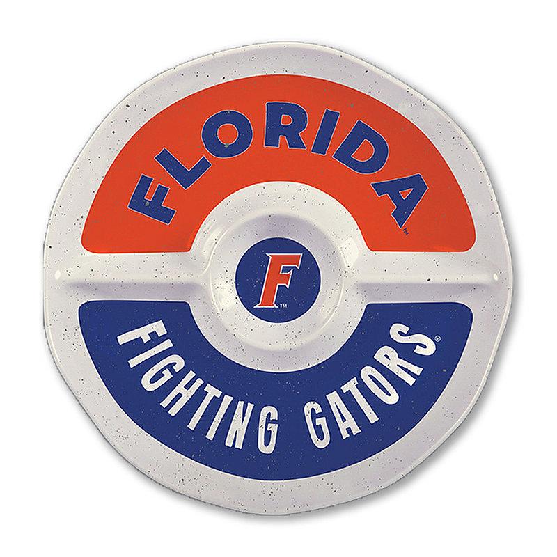 "Florida Gators Round Serving Tray 15"" FL MEL ROUND SEC 15"