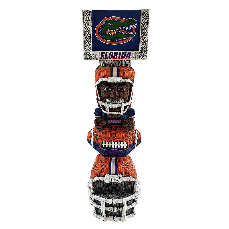 "Florida Gators Tiki Totem Figurine 14.5"" TKNCSTKFL"