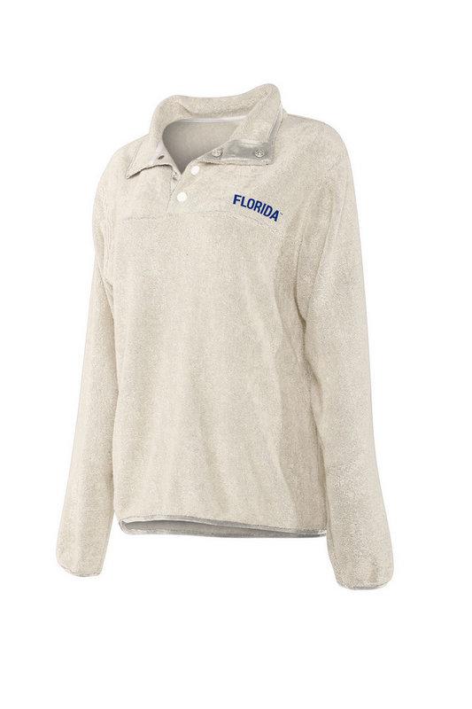 Florida Gators Women's Snap Pullover Sweatshirt 439-32-FL443