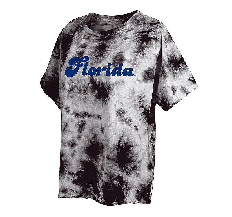 Florida Gators Women's Tie-Dye Slouchy Tshirt 469-49-FL548
